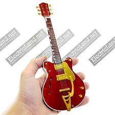 Mini Guitar scale 1:4 GEORGE HARRISON beatles miniature rock gadget collectible