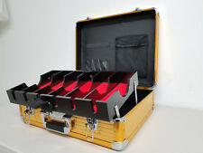 Barber Clipper Trimmer Blade Tool Case Large (GOLD) Vincent VT10142-GD