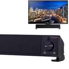 2.2 Channel Tv Speaker Soundbar Mini Home Theater Sound Bar System 3.5mm Aux Usb