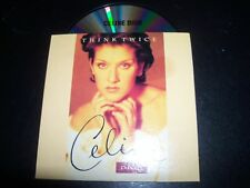 Celine Dion Think Twice Australian Card Sleeve CD Single