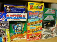 Old Vintage Baseball cards, UNOPENED packs, 275+ cards, Rookies & Hall of Famers
