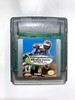 Championship Motocross 2001 NINTENDO GAMEBOY COLOR GAME Tested WORKING