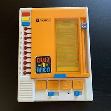 Sears Quiz-A-Tron Tomy Electronic Learning Aid with 5 Books *Tested & Works
