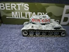 Solido / VEREM /BMM RUSSIAN T-34 /85 WINTER CAMO ; RUSSIA WINTER 1944 (1/48)
