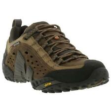 Merrell Intercept Mens Brown Breathable Walking Hiking Trainers Shoes Size 7-14