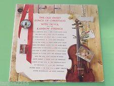 Frank De Vol & Rainbow Strings Songs of Christmas Silent Night NEU Sealed LP