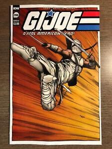 G.I. JOE #286 - VARIANT COVER B - 1ST PRINT - IDW (2021)