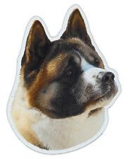 Magnetic Bumper Sticker - Akita Dog Breed Picture Magnet - Cars, Trucks, Suvs