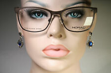 Unworn NOMAD by MOREL 3048N Women's Dark Brown Oversized Glasses Frames 54 16