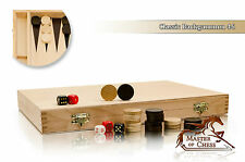 Beautiful BACKGAMMON CLASSIC 35 x 46cm Wooden Classical Board Game