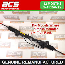 VAUXHALL VECTRA C POWER STEERING RACK 1.9 CDTi 2004 TO 2009 - RECONDITIONED