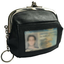 Genuine Leather Women's Credit Card Wallet Coin Purse Change Pouch Leather Pouch