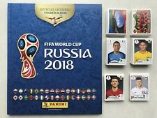 40 images stickers PANINI RUSSIA 2018 Coupe du Monde Russie a choisir au choix