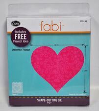 Fabi Bigz Heart Shape Cutting Die #3 659143