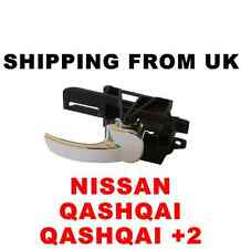 NISSAN QASHQAI +2 CHROME INNER INTERIOR DOOR HANDLE FRONT RIGHT OFF SIDE RH