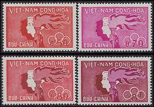 VIETNAM du SUD N°165/168* Sports et Jeunesse, 1961 South Vietnam Sc#162-165 MH