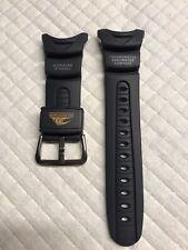 "Casio ""Sea Pathfinder"" Strap 10045755: Black SPF-40-2 New"