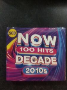 NOW 100 Hits The Decade (2010s) New Sealed