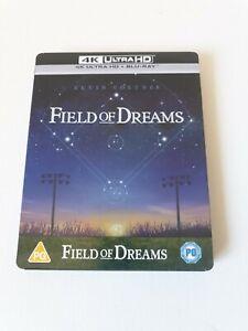 Field of Dreams (4k Ultra HD + Blu Ray) Limited Edition Steelbook Kevin Costner