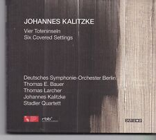 Johannes Kalitze-Vier Toteninseln cd album digipack