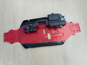 HoBao Hyper ST Pro Chassis Plate with Side Guards & Radio Box/ Carbon Servo Tray