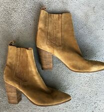 SEED HERITAGE SUEDE LEATHER ANKLE BOOTS - SIZE 40 ❤️