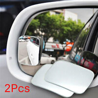 2Pcs 360° Wide Angle Convex Rear Side View Blind Spot Mirror Car Auto Newest