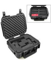 CM 14 Inch Pistol Case for Hand Guns fits 2 Pistols and Magazines in Hard Shell