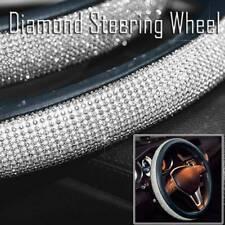 """Car Steering Wheel Cover 38cm/15"""" Shiny Rhinestone Bling Diamond For Girl Women"""