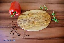 Schneidebrett / Frühstücksbrett / Kräuterbrett aus Olivenholz