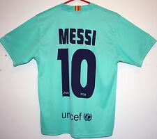 """BARCELLONA Fc Camicia 2010/2011 (messi 10) NIKE AWAY S Small 31"""" - 33"""" 10/11"""