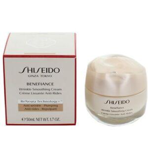 Shiseido Benefiance Wrinkle Smoothing Cream 50ml Moisturiser Cream - New
