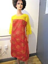 African Traditional Ankara Wax Boubou Baizin Abaya Kaftan Dress