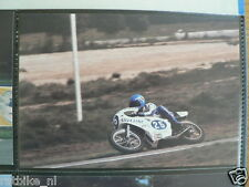 S0905-PEKKA NURMI YAMAHA 350 CC ASSEN 1977 NO 25 PHOTO COLOR MOTO GP SILJA LINE