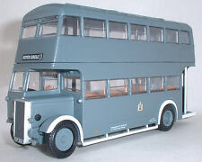 99206 EFE Daimler Utility Double Deck Bus War Time Birmingham City 1:76 Diecast