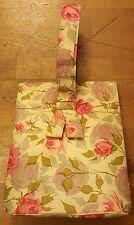 Vintage, Multi-color, Floral, Fabric, Organizer, Baguette, Handbag (Pocketbook)
