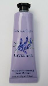 Crabtree & Evelyn Lavender Ultra-moisturising Hand Therapy 25g New & Sealed