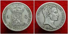 Netherlands - Zeldzame 1 Gulden 1820 U