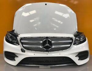 Mercedes E class w213 amg 2017-18 genuine front bumper,bonnet,headlights