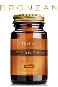 BRONZAN DR.VITON SUNLESS TANNING TANNING (30 CAPSULES) 100% NATURAL & ORGANIC