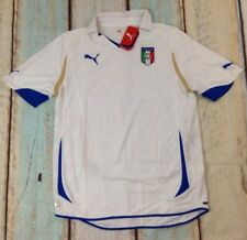 Puma Mens Football Soccer Italy Italia FIGC Away Short Sleeve Shirt Jersey Large