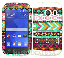 For Samsung Galaxy Ace Style S765c KoolKase Hybrid Cover Case - Tribal Pink 78