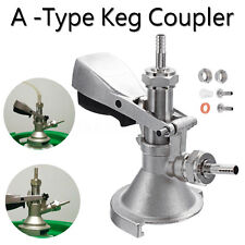 Micro Matic A-type System Beer Keg Tap Bar Coupler Lever Draft For Domestic Kegs