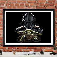 The Mandalorian Star Wars Poster Art Picture Print