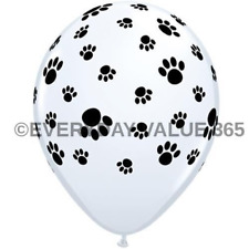 "Latex Paw Print Patrol 12"" Nickelodeon Balloon Dog Balloon 25 CT."