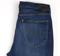 Lee Hommes Austin Slim Jeans Jambe Droite Taille W33 L32 APZ852