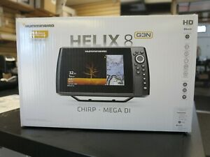 HUMMINBIRD HELIX 8 MDI GPS G3N CHO 410820-1CHO NEW IN BOX W/O TRANSDUCER