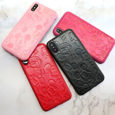 Faux Leather Mickey Mouse Disney Phone Case/Cover For All iPhone Models UK!