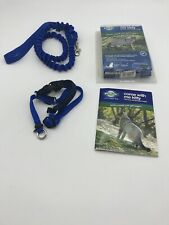 PetSafe COME WITH ME KITTY Cat Harness and Bungee Leash Blue size Medium