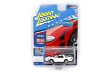 JOHNNY LIGHTNING MIJO EXCLUSIVES 2002 CHEVY CAMARO ZL1 427 MUSCLE CARS IN WHITE